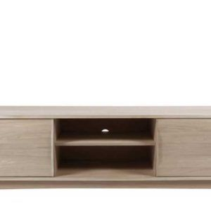 Modern Tv Stand Natural 2 kapak