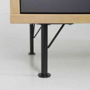 Modern Tv Stand Kapaklar siyah lake