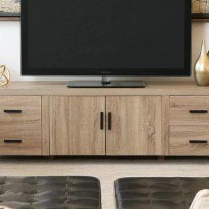 Rustik Endüstriyel Tv Stand