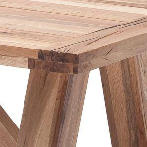 Yemek Masası Rustik Masif Naturel Katı Çam