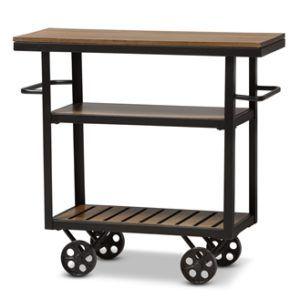 Mutfak Mobilyası Endüstriyel Mobil Hizmet Sepeti