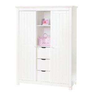 Bebek Odası Takımı Beyaz Mdf Lake 2 li Ve 3 Lü GardropSeçenekli  Kullanışlı Set