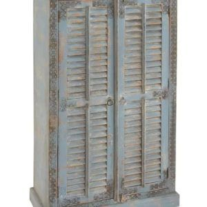 Gardrop 2 Panjur Kapaklı Model Pastel Tonu Eskitme