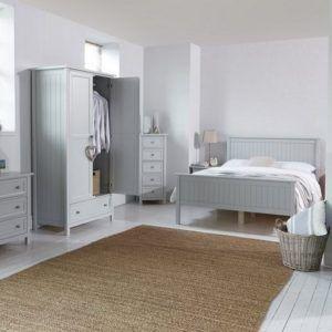 Yatak Odası Takımı Marin Model Modern Gri Mdf Lake Toplam 5 parça